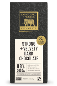 PANTHER 88% COCOA, 3 OZ BAR
