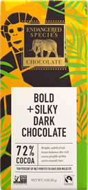 CHIMP 72% COCOA, 3 OZ BAR
